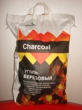 Уголь древесный для шашлыка из березовой древесины - производим и продаем оптом с доставкой по Москве и области