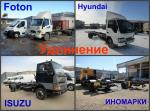 Удлинение Hyundai, TATA, Foton, BAW, ISUZU.