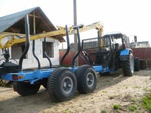 лесовозная машина мпт-461