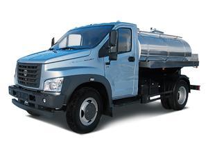 ГАЗ - С41R13 ГАЗон NEXT молоковоз - водовоз 4200 л.