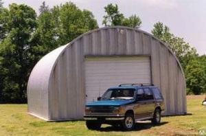 Утепленный сборно-разборный гараж