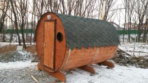 Баня бочка. Изготовление во Владивостоке