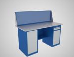 Верстаки с двумя тумбами ВТ (дверь и две полки)/ВТ1 (ящик и дверь)