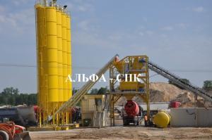 Китайский бетонный завод