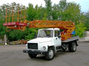 Автовышка газ 3309 телескопическая 18 метров