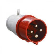 Силовая вилка переносная 014 3Р+РЕ 16А 380В IP44 TDM