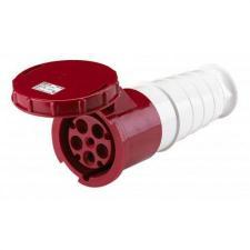Силовая кабельная розетка 235 переносная 3Р+РЕ+N 63А 380В IP54 TDM
