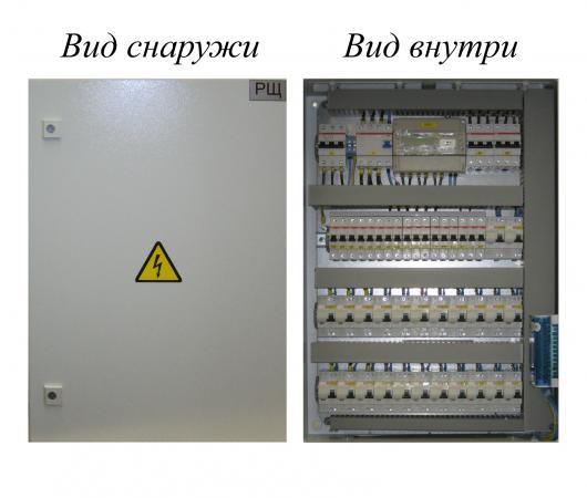 Сборка электрошкафов по схеме