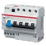 Дифференциальный автомат ABB DS204 AC-C16/0,03 (16А 30мА) 6 модулей. ЦЕНА!