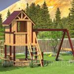 Детская площадка для дачи «Дворянская усадебка»