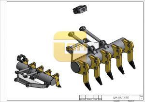 Рыхлительное оборудование переднего расположения СДМ-25А.21.01.000