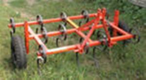 Культиватор навесной для сплошной обработки почвы