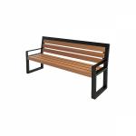 """Скамейки садовые деревянные """"Амели"""", 1,96 м со спинкой и подлокотниками"""