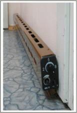 Конвектор плинтусного типа (теплый плинтус)