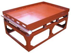 Вибростол для производства плитки и еврозаборов