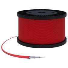 SF-100 (FEP) Радиочастотный кабель 50 Ом, 18 ГГц, пропаянная оплетка, MIL-C-17