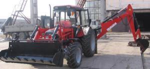 Экскаватор-погрузчик ЭО-2626-01 тракторный навесной