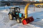 Снегоочиститель фрезерно-роторный СНР-200