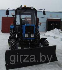 Отвал гидравлический для МТЗ 80 82 для снега