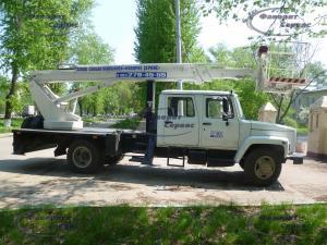 Продажа автовышек ГАЗ