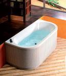 Акриловая ванна ALPEN Viva D 175