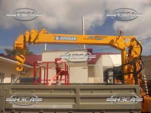 НОВЫЙ. Кран-манипулятор Soosan SCS 334, г/п 3,2 тонны