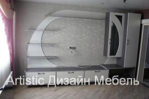 Стенка для телевизора в комнату в Пушкине на заказ