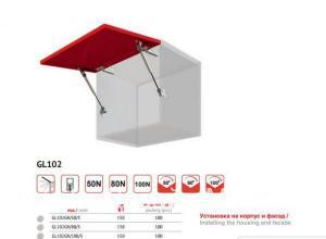 Подъемный механизм газлифт в Пушкине мебельная фурнитура
