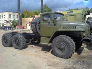 Уралы 4320 и 375 Д с хранения