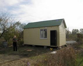 Изготовление дачных домиков, бытовок в Крыму
