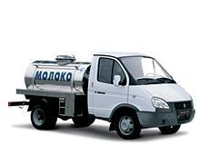 Молоковоз Газель на ГАЗ 3302
