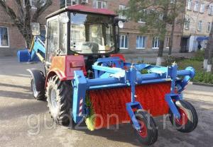Щетка на трактор МТЗ-320 МКЩ-1,5
