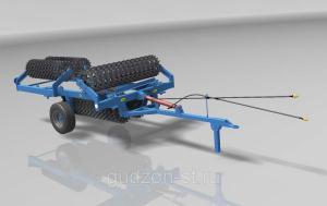Каток кольчато-шпоровой гидрофицированный ККШ-9,2Г-02 (520)