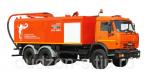 Комбинированная каналопромывочная илососная машина КО-560