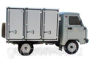Хлебный фургон УАЗ (хлебовозка)