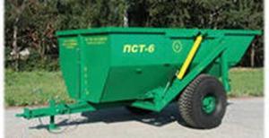 Полуприцеп самосвальный тракторный ПСТ-6