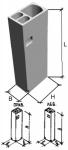 Блок вентиляционный ВБ-2 (3х-отсечные)