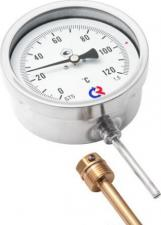 Термометр биметаллический, радиальный
