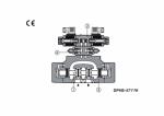 Двухкаскадный гидрораспределитель ATOS DPH*-1 DPH*-2 DPH*-4 DPH*-6 (DPHI, DPHE)