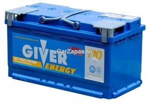 Аккумулятор Giver Energy 110 А/ч 6 СТ-110