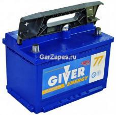 Аккумулятор Giver Energy 77А/ч 6 СТ-77
