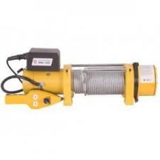 Лебедка электрическая ЭЛБА-3620 (12В, до 1810/3620кг,3,4кВт,трос 29м/8,3мм) КАЛИБР