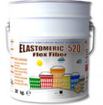 Эластомерик-520 Флекс Файбер Битумно-полимерная мастика на водной основе армированная фиброй (17 кг)