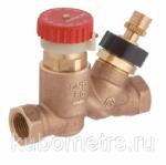 Балансировочные клапаны Ду15 BALLOREX Thermo 30-50С