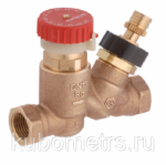 Балансировочные клапаны Ду20 BALLOREX Thermo 30-50С