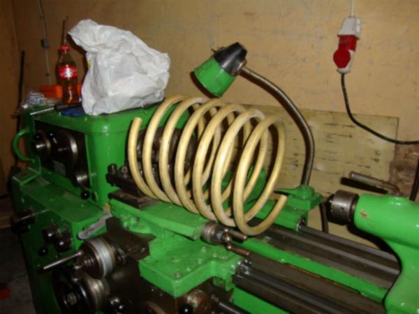 Как сделать змеевик из трубы