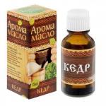 """Эфирное арома-масло для бани и сауны """"Кедр"""", 15 мл"""