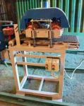 Сварог 300-3 Трехсторонний шлифовальный станок с лепестково-щёточными барабанами для погонажа