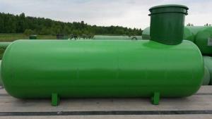 Подземная ёмкость для газа