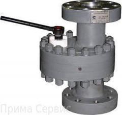 ЗДШ задвижка стальная дисковая штуцерная